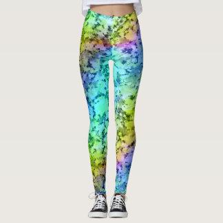 Legging Caneleiras Abstractas Color