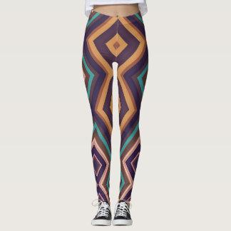 Legging Caneleiras geométricas modernas da arte Vita2 do