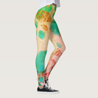 Legging Escudos do arco-íris