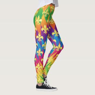 Legging Estilo do carnaval colorido
