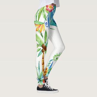 Legging Exótico floral tropical