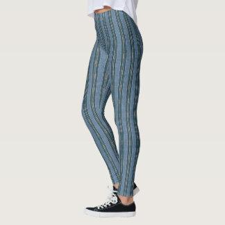 Legging HAMbyWG - caneleiras - azul do hipster