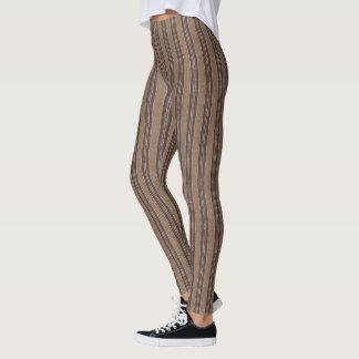 Legging HAMbyWG - caneleiras - hipster Brown
