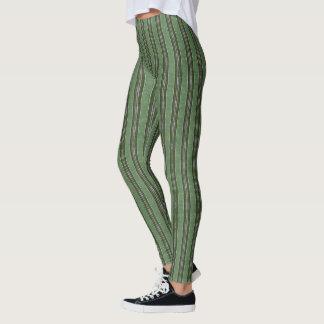 Legging HAMbyWG - caneleiras - verde do hipster