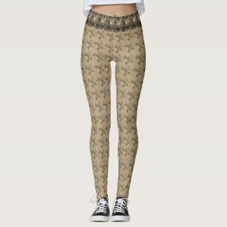 Legging Hipster-Evening-Lounge-Golden-Roses_XS-XL