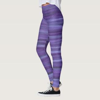 Legging Listra roxa original indiferente da violeta da