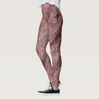 Legging Malva textured