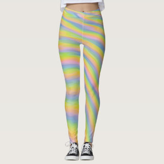 Legging Ondas do Pastel