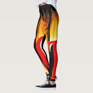Legging Quente quente quente das caneleiras ou das calças