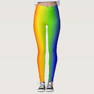 Leggins do arco-íris leggings