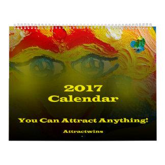 Lei do calendário da atração 2017