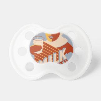 Leite - para a comida da energia do calor chupeta para bebê