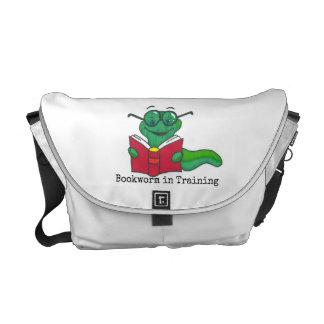 Leitor ávido no saco da fralda do treinamento bolsa mensageiro