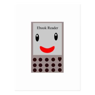 Leitor feliz 1 de Ebook Cartão Postal