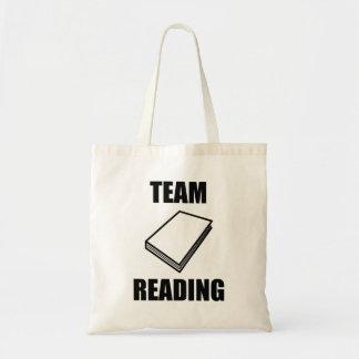 Leitura da equipe bolsas