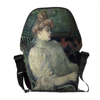 Leitura da mulher bolsas mensageiro