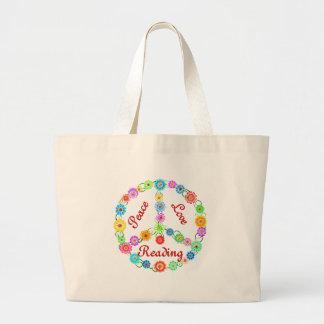 Leitura do amor da paz bolsa para compra