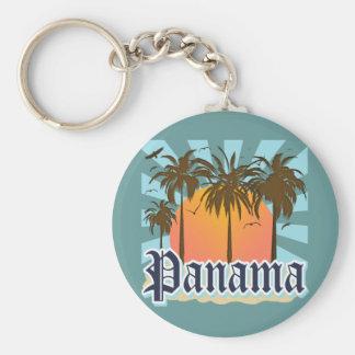 Lembrança da Cidade do Panamá Chaveiro