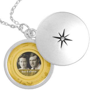 Lembrança da foto do aniversário de casamento | do colar medalhão
