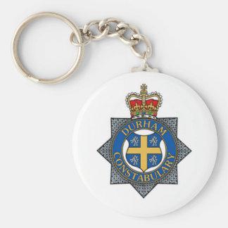 Lembrança da polícia de Durham Chaveiro