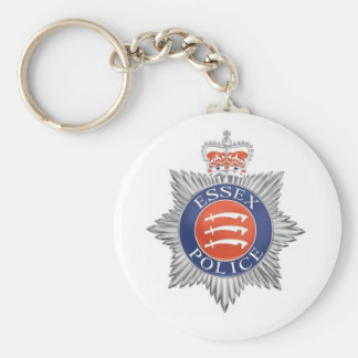 Lembrança da polícia de Essex Chaveiro