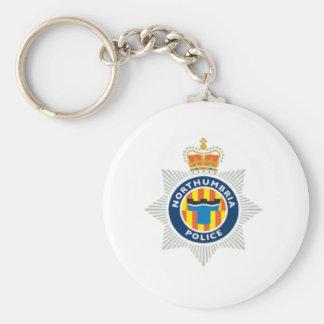 Lembrança da polícia de Northumbria Chaveiro