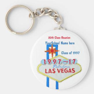 Lembrança da reunião de Las Vegas Chaveiro