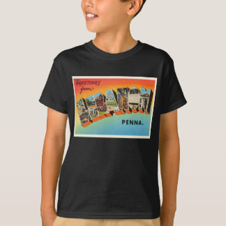 Lembrança das viagens vintage do PA de Líbano Camisetas