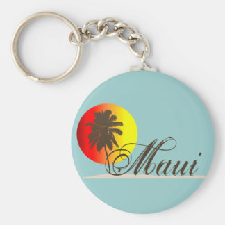 Lembrança de Maui Havaí Chaveiro