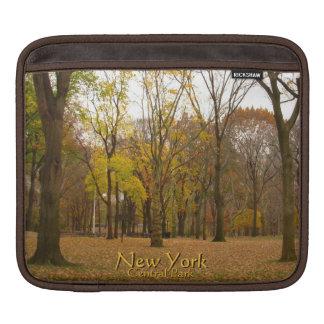 lembrança do Central Park de New York da luva do i Bolsa De iPad