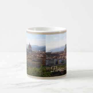 Lembrança do viagem de Florença Italia Caneca De Café