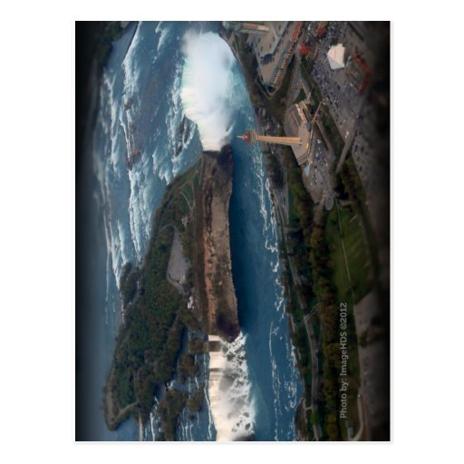 Lembrança & presente de Niagara Falls Cartão Postal