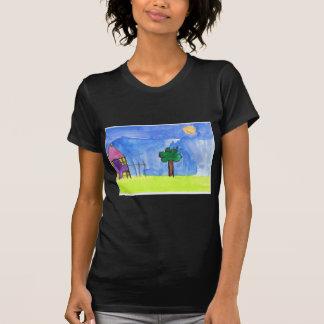 Lembranças dos trabalhos de arte da sua criança t-shirt