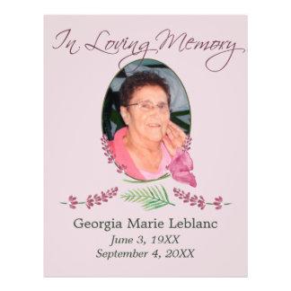Lembranças feitas sob encomenda do memorial da flyer 21.59 x 27.94cm