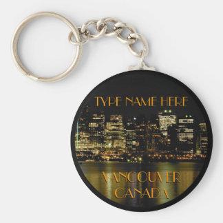 Lembranças personalizadas da corrente chave de chaveiro