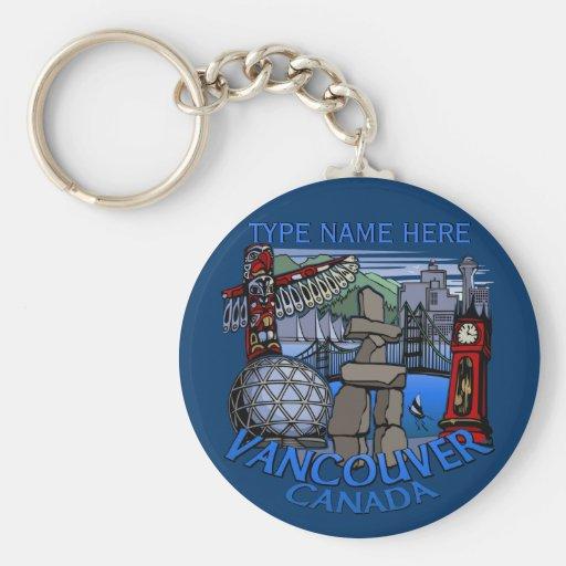 Lembranças personalizadas da corrente chave de Van Chaveiro