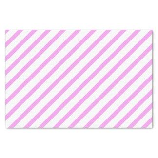 Lenço de papel cor-de-rosa da listra