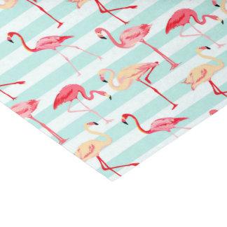Lenço de papel cor-de-rosa do teste padrão da