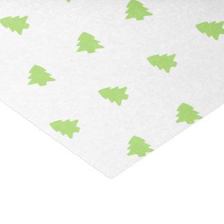 Lenço de papel da árvore de Natal