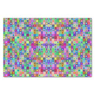 Lenço de papel decorativo colorido