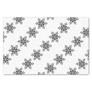 Lenço de papel do floco de neve