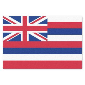 Lenço de papel patriótico com a bandeira de Havaí