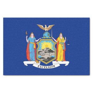 Lenço de papel patriótico com bandeira New York