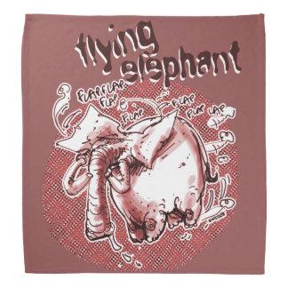 Lenço elefante do vôo