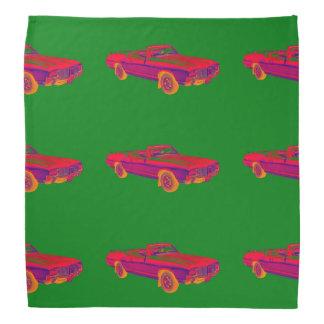 Lenço Pop art 1971 supremo do carro do músculo do cutelo
