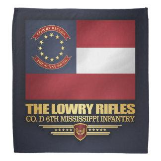 Lenço Rifles de Lowry