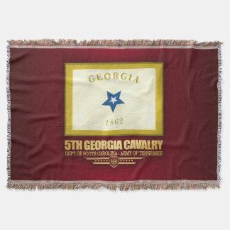 Lençol 5o Cavalaria de Geórgia
