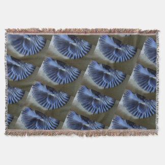 Lençol Abstrato do azul