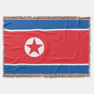 Lençol Bandeira da Coreia do Norte