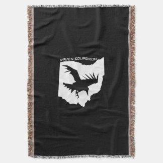 Lençol Cobertura do lance do esquadrão do corvo
